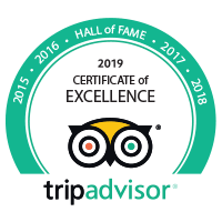 2018 - Certificate of Excellence - Tripadvisor