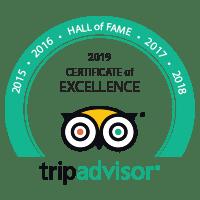 Top-rated on TripAdvisor