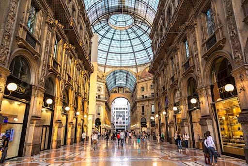 Vittorio Emanuele Gallery Milan