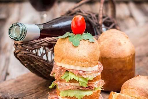 Aperitive Milan Food