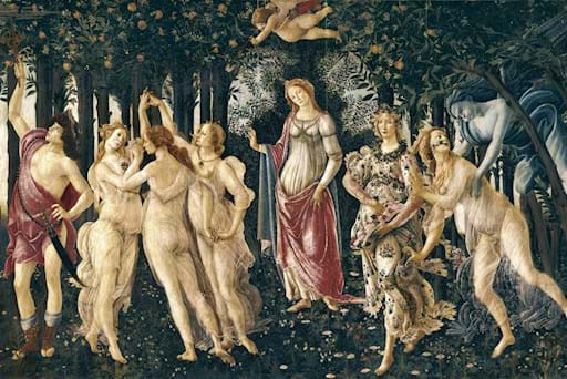 The Spring Botticelli Uffizi