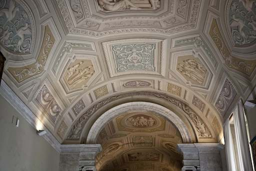 Tapestry Room's ceiling