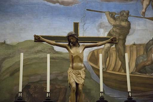Sistine Chapel Altar Cross