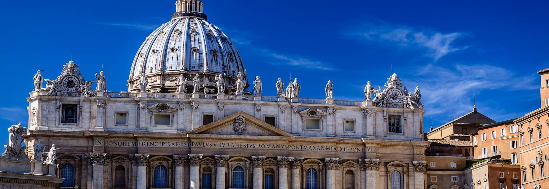 St. Peter's Basilica on sunny day