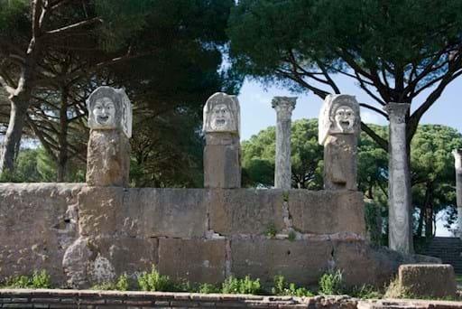Ostia Antica Sculptures
