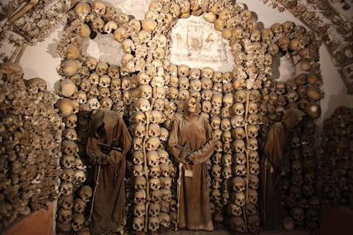 Capuchin three monks