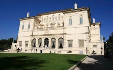 Front of Villa Borghese with Garden