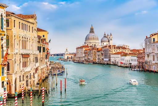 Canal Venice View