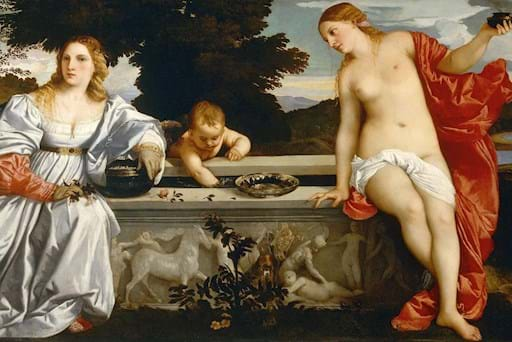 Borghese Gallery Painting