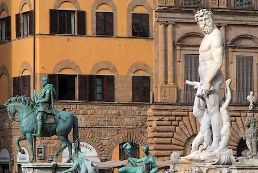 Neptune Statue Piazza Signoria