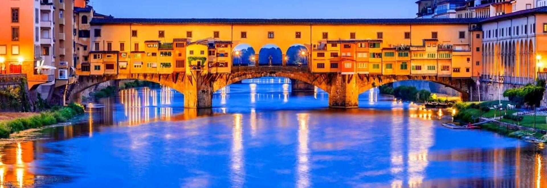 Ponte Vecchio Night Florence