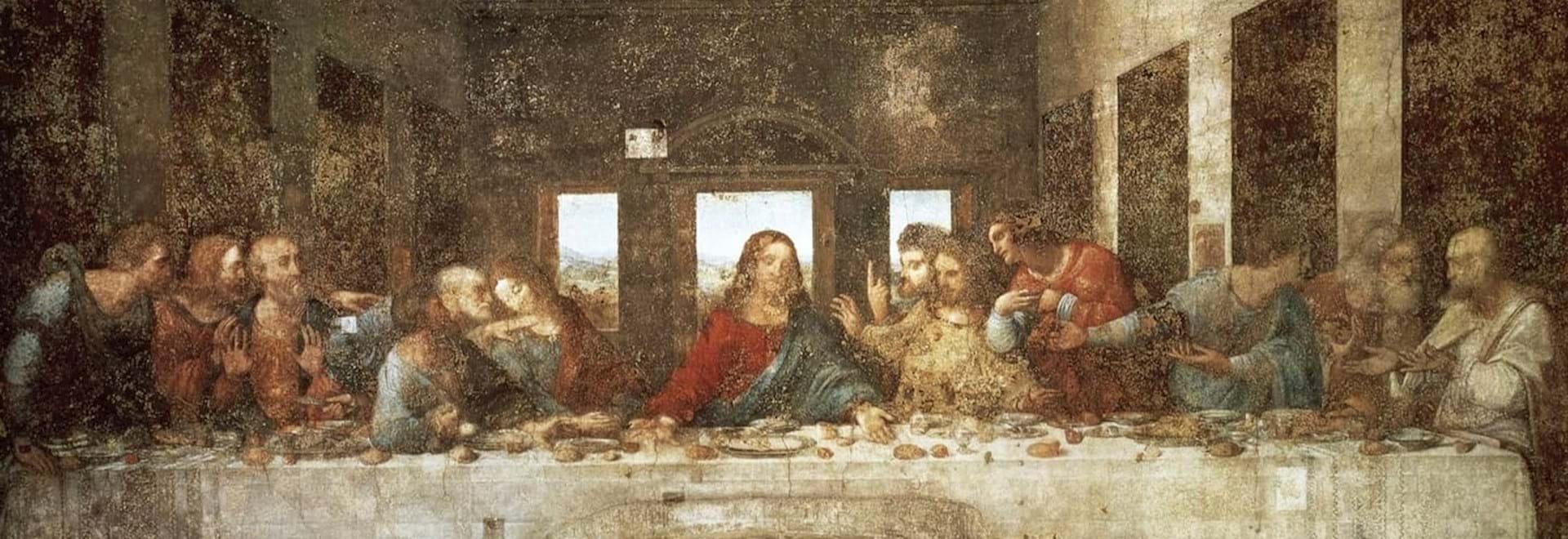 Last Supper Famous Painting of Da Vinci
