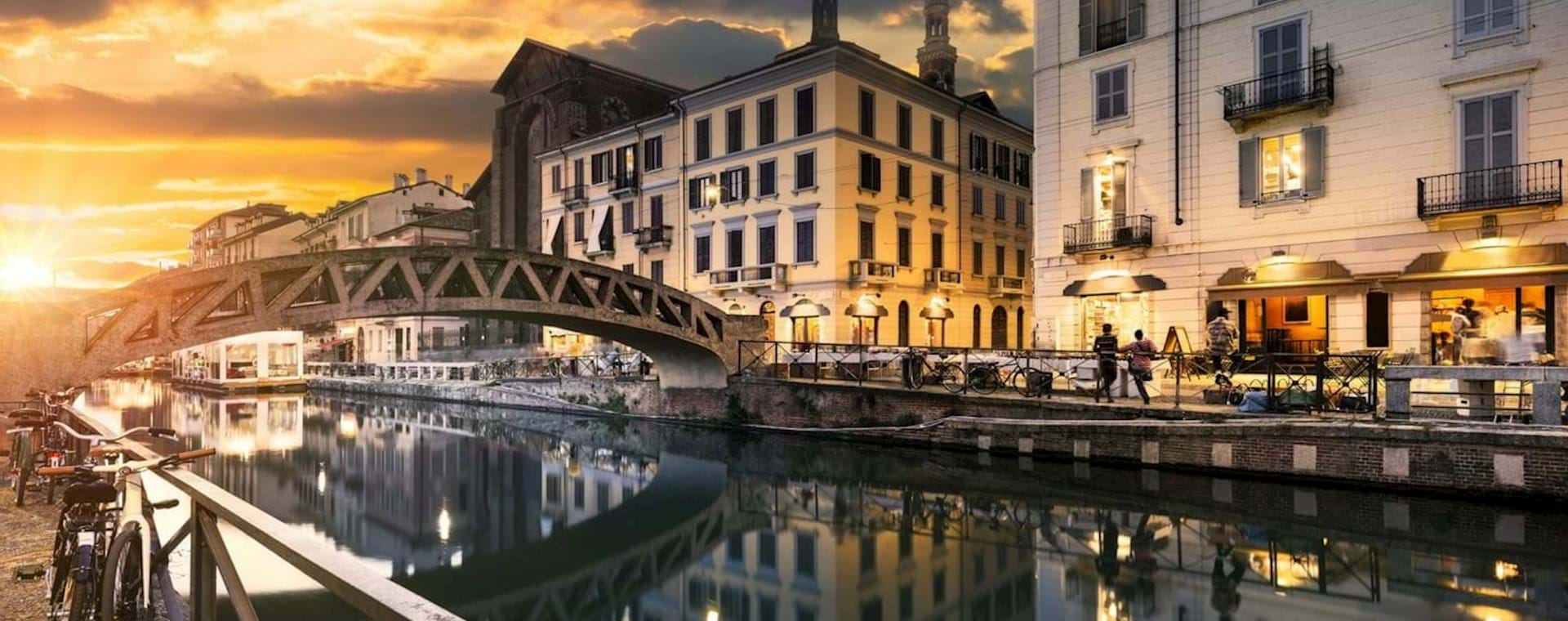 Milan Regional Food and Wine Evening Experience on the Ancient Canals