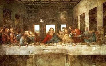 Last Supper Famous Painting of Leonardo Da Vinci