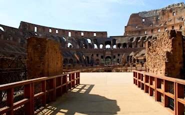 Colosseum Arena Floor in Rome