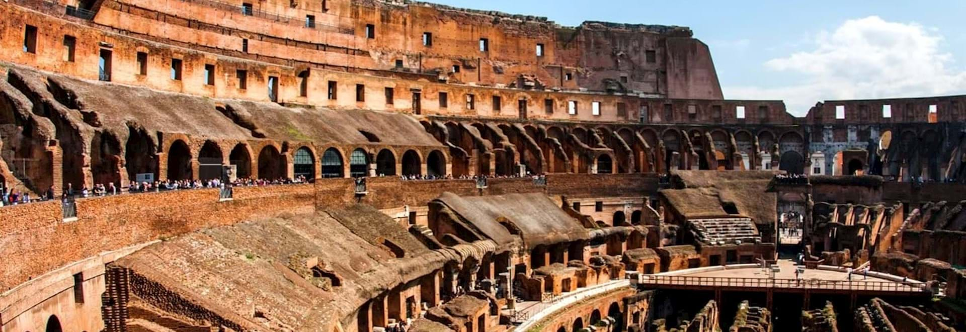 Colosseum Arena Interior, Rome