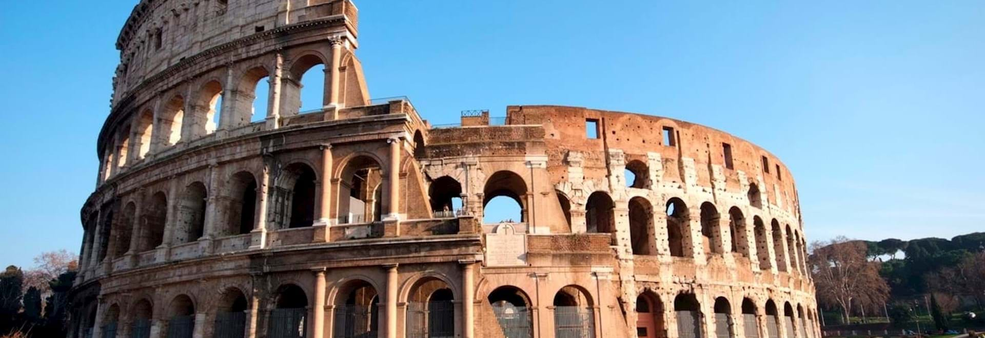 Colosseum Arena from outside on a Sunny afternoon