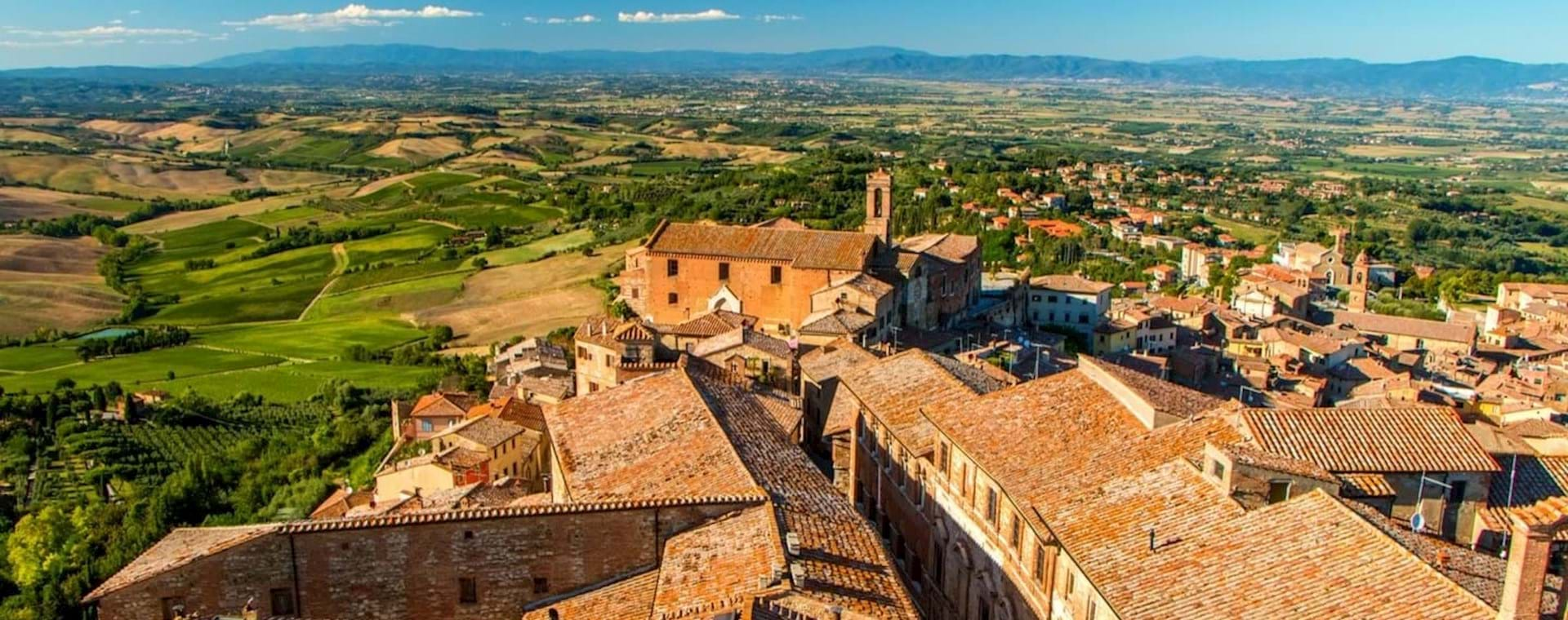 Guided Day Trip: Tuscany from Rome including Brunello Wine Tasting & Gourmet Lunch