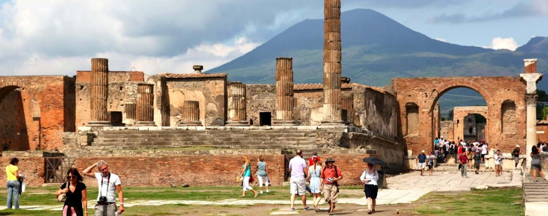 Full Day VIP Pompeii and Sorrento Small Group Tour from Rome