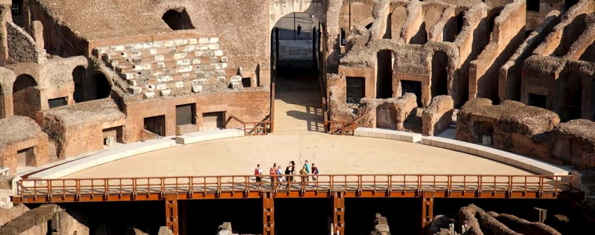 Express Colosseum Tour with Gladiator's Entrance and Special Arena Floor Access