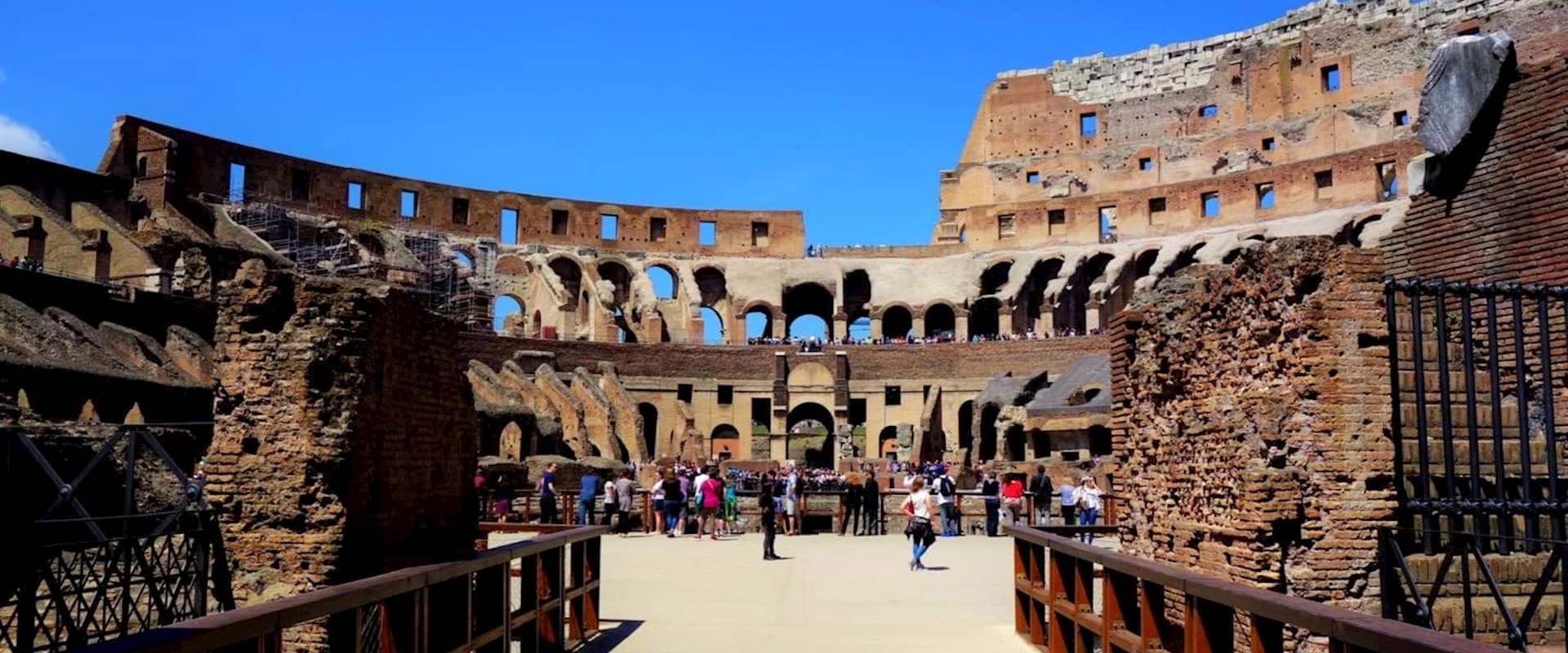 Colosseum Arena Floor Tour With Breakfast Dark Rome