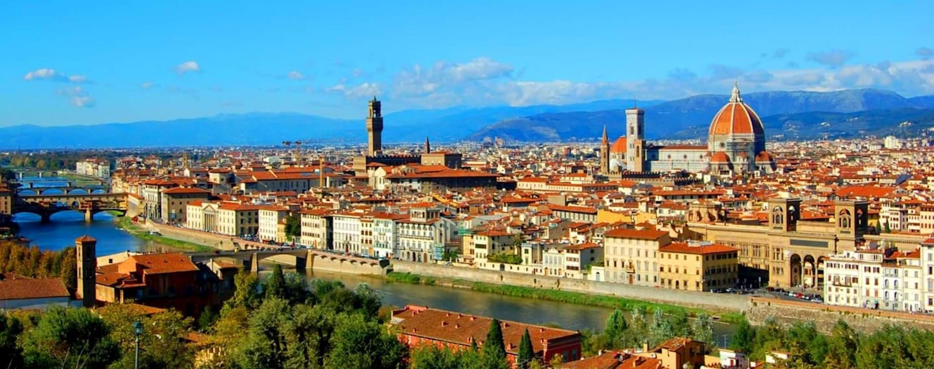 Best of Florence from Rome by High-Speed Train with Michelangelo's David