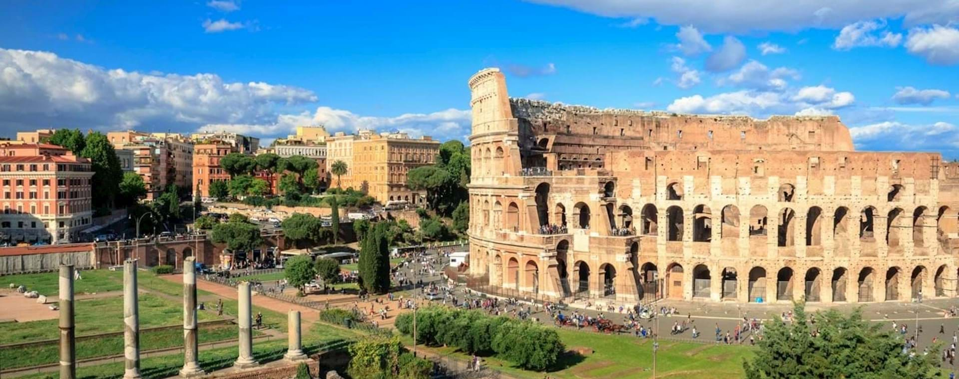Colosseum Tour With Special Access to the 3th, 4th and 5th Levels, Roman Forum and Palatine Hill