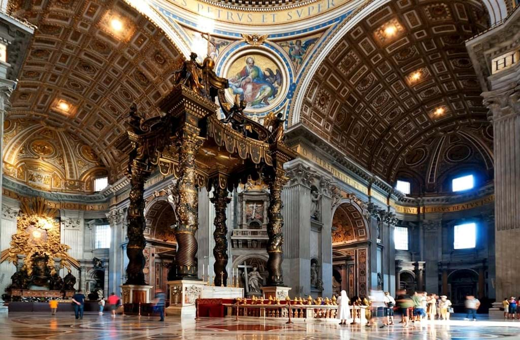 Image result for st peter's basilica inside hd pics