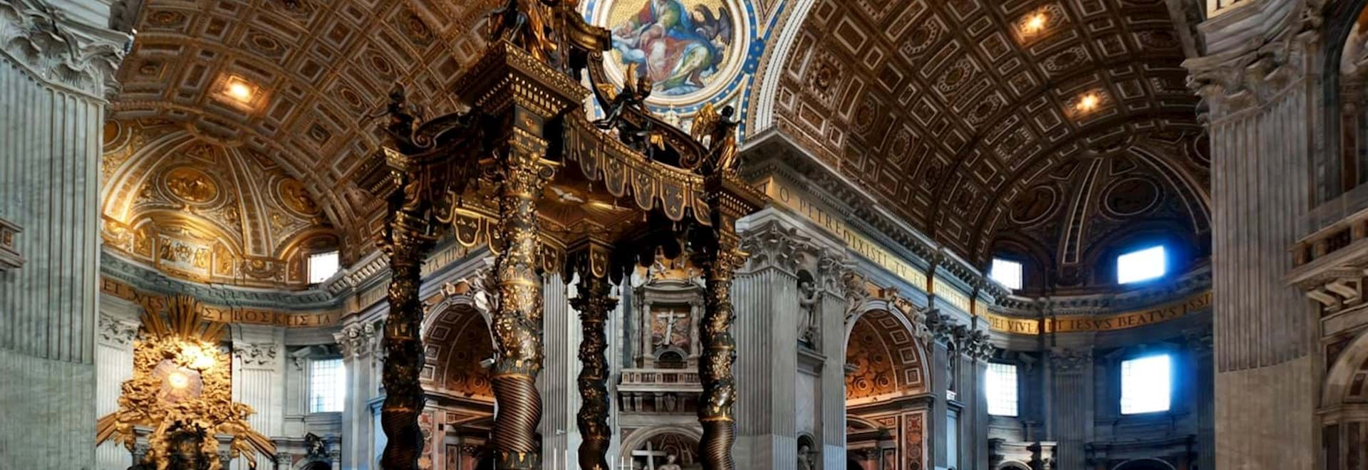 St Peter's Basilica Altar in the Vatican