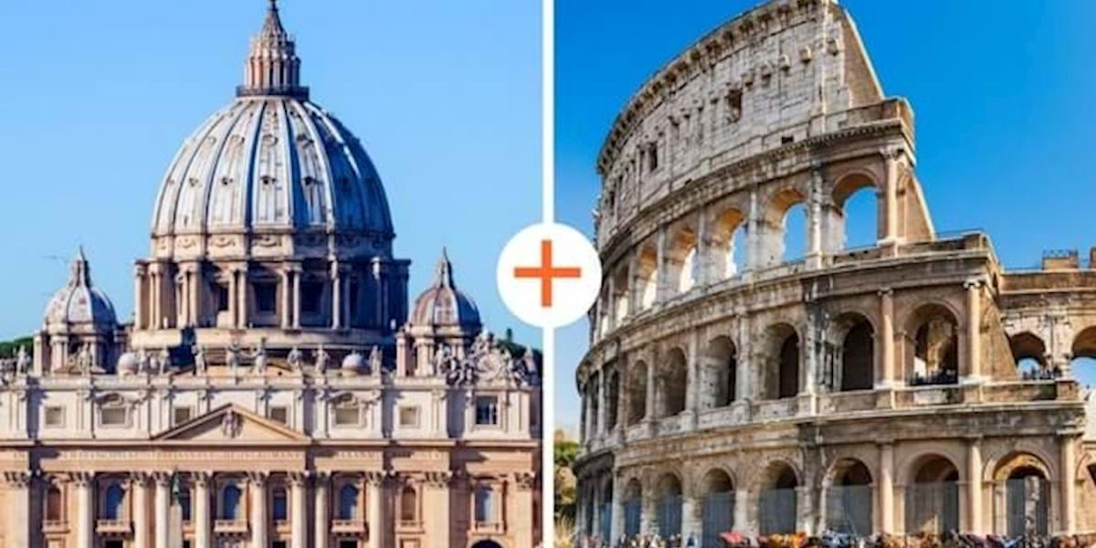 Full Day Vatican And Colosseum Combo Tour No Wait Access