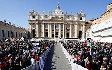 St. Peter's Square in a Papal Audience day
