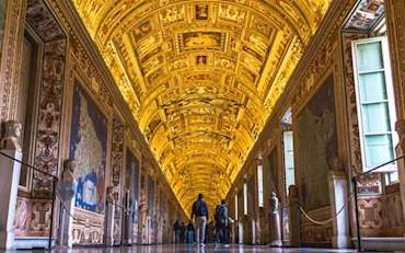 Stunning Hall of Maps Room in the Vatican Museums