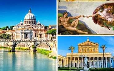 Main Basilicas of Rome and Vatican