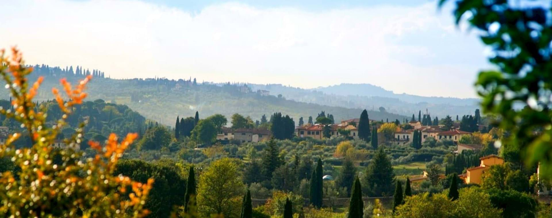 Tuscan Vineyard Villa Dinner and Wine Tasting Experience