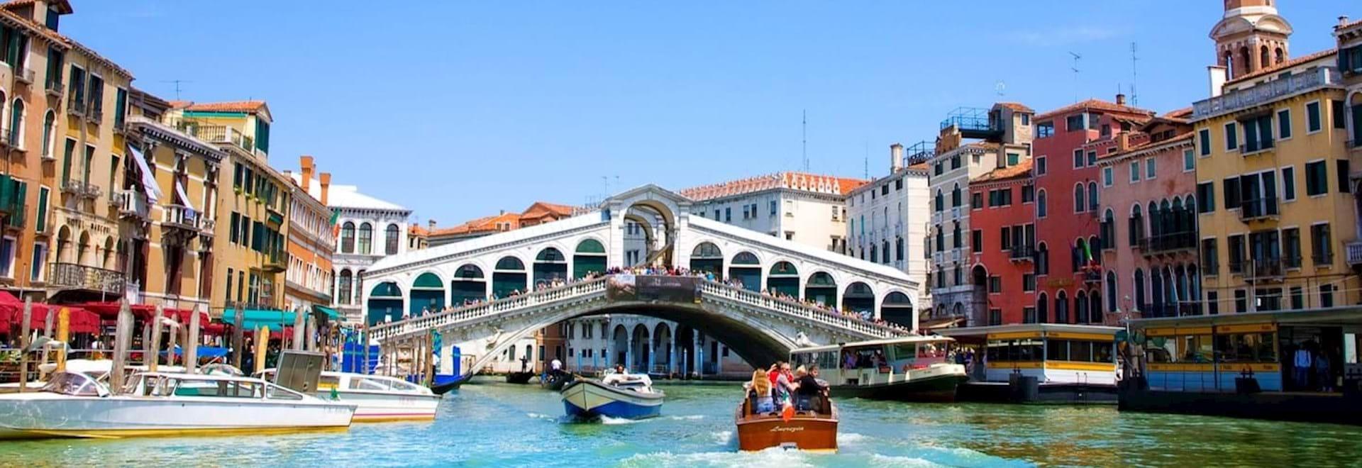 Rialto Bridge over the Grand Canal in Venice