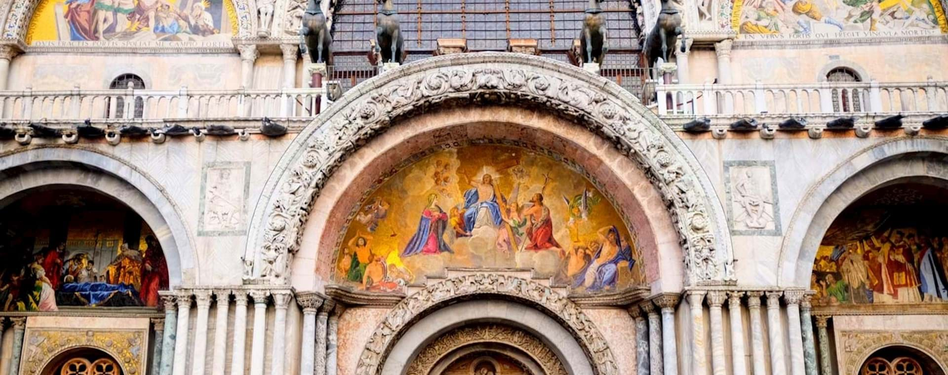Semi Private Best of Venice Tour with Grand Canal Water Taxi and St. Mark's Basilica