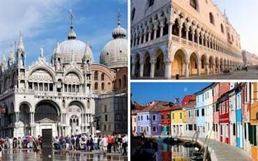 Mark's Basilica, Doge's Palace and Small Islands near Venice