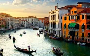 Venice Grand Canal at the Golden Hour