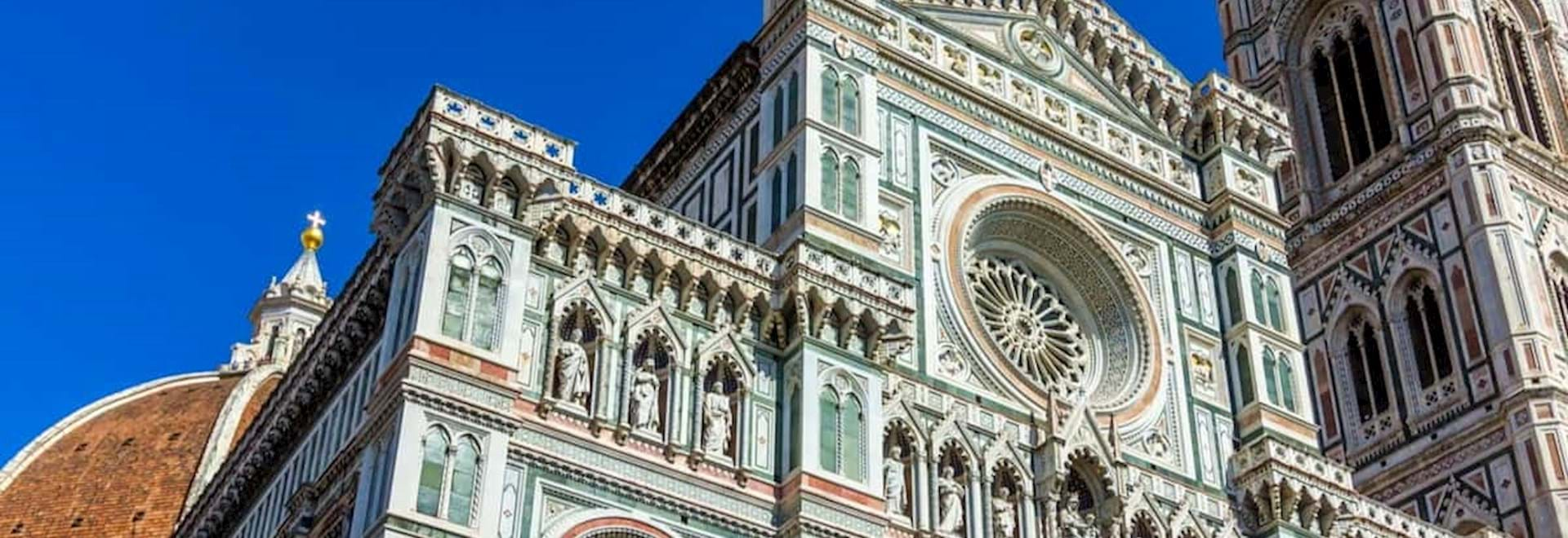 Front of Florence Cathedral with Tower