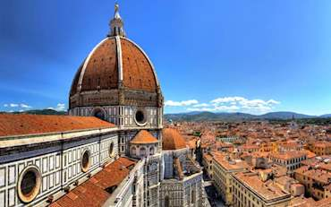 Florence Cathedral on a beautiful sunny day