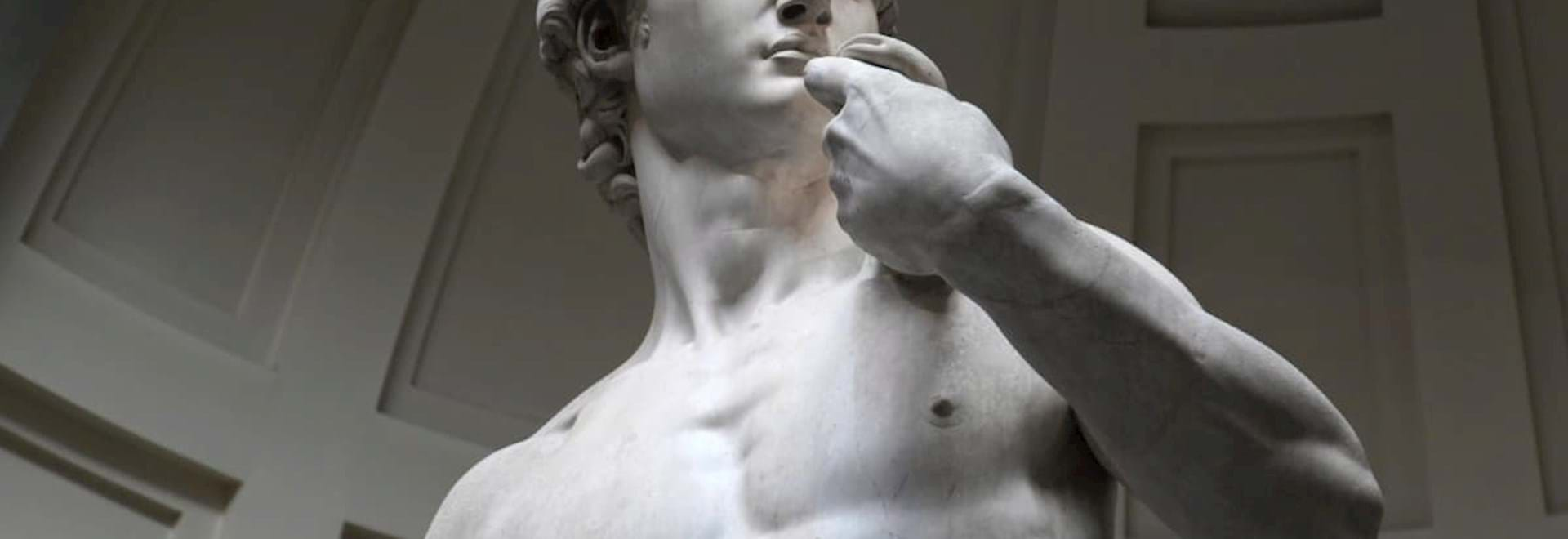 David Statue created by Michelangelo in Florence