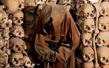 Rome Underground, Capuchin crypts with monks skulls