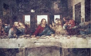 Last Supper Painting by Leonardo Da Vinci in Milan