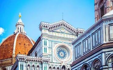 Florence's Cathedral with the Dome on a sunny day