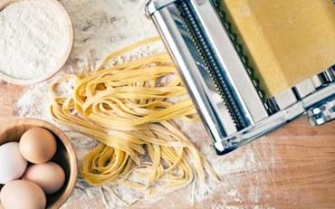 Cooking Class, how to make fresh Tagliatelle