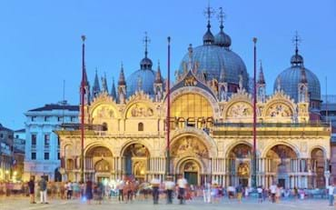 Stunning View of St. Mark Basilica at night