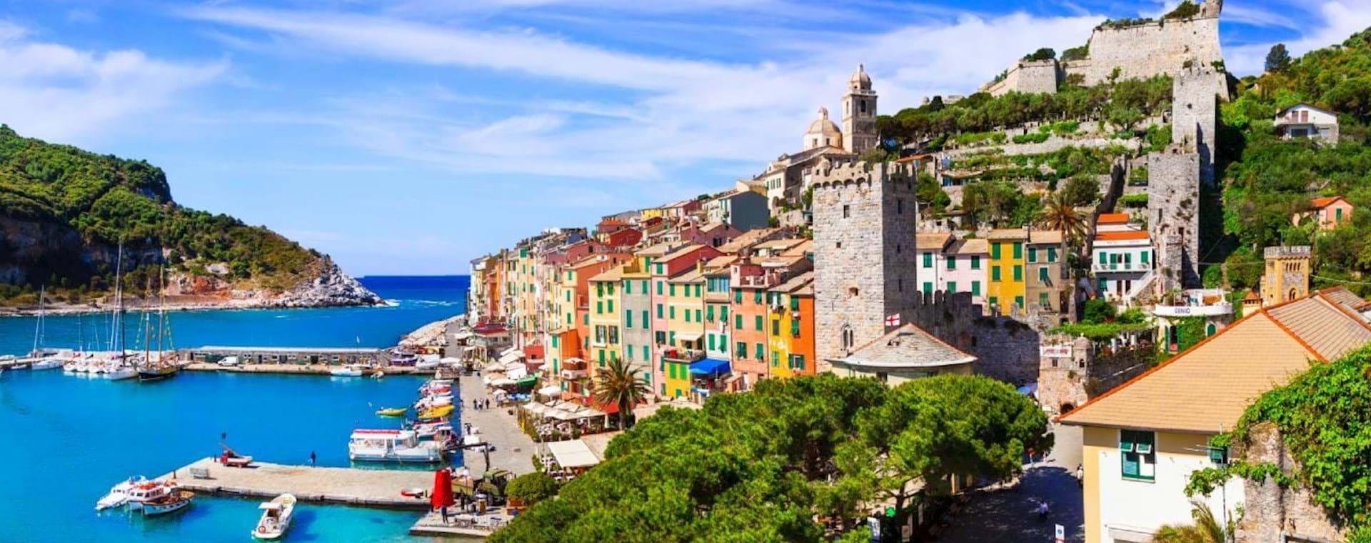 Cinque Terre and Portovenere from Milan
