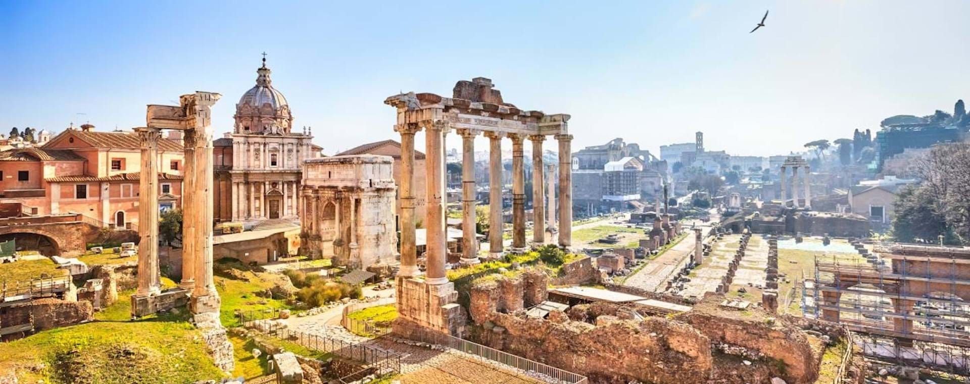 Skip the Line Tickets Colosseum & Roman Forum with Escorted Entry