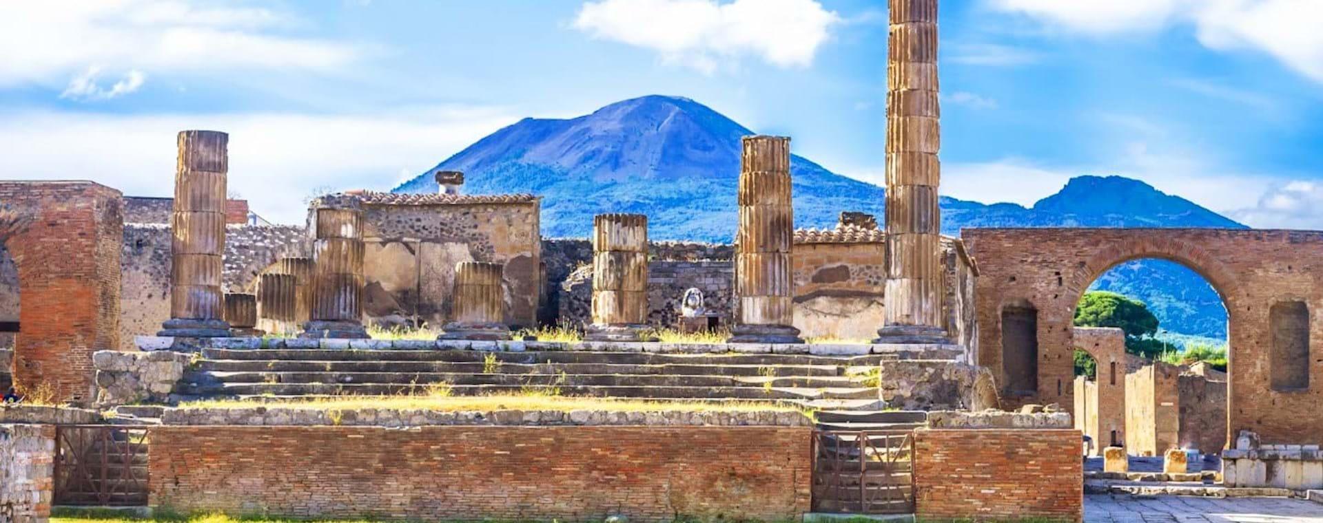 Full Day Pompeii Tour from Rome with Mt. Vesuvius Volcano